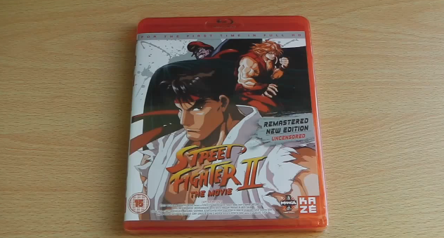 street fighter 2 the animated movie blu ray