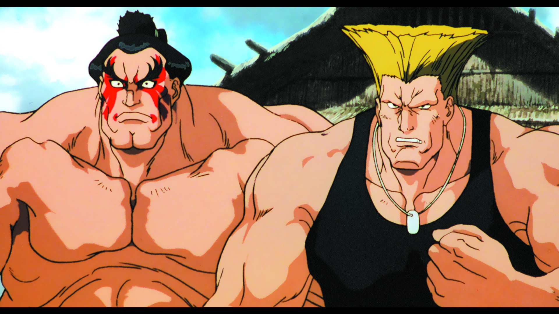 Blu Ray Review Street Fighter Ii The Movie Animeblurayuk