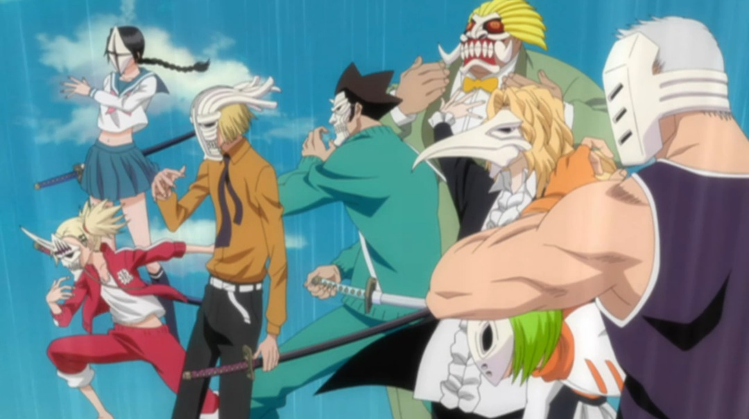 Quick look bleach series 13 part 2 animeblurayuk - Ichigo vizard mask ...