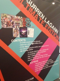 MCM_Expo_London_May_2014_Gurren_Lagann_Poster