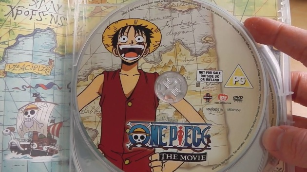 one_piece_movie_collection_set_1_unboxing_disc