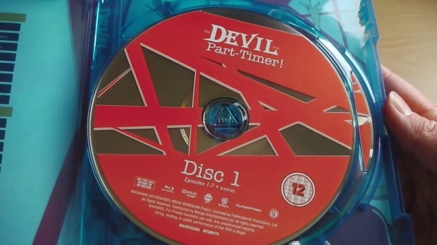 Devil_is_part_timer_bluray_unboxing_disc
