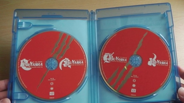 Inuyasha_movie_collection_unboxing_discs