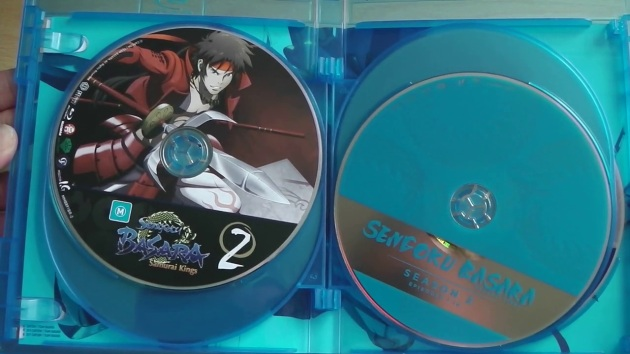 sengoku_basara_complete_collection_bluray_unboxing_discs