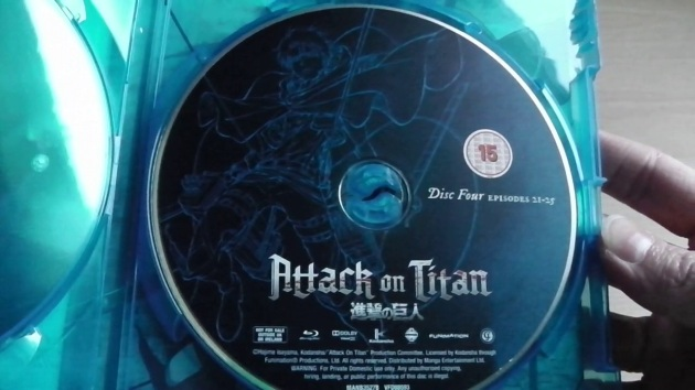 Unboxing: Attack on Titan - Part 2 (Blu-ray) [UK ...