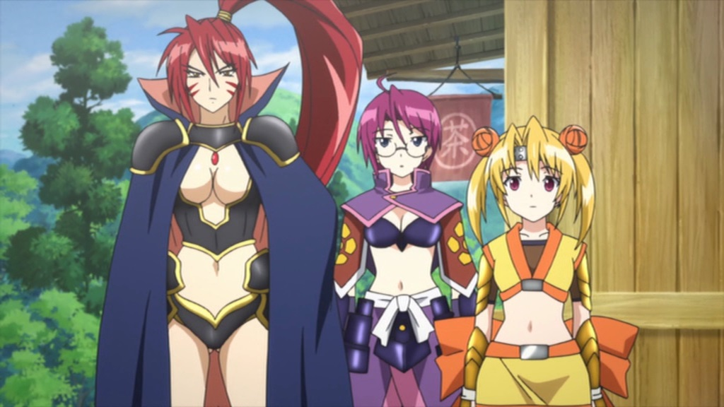dvd review battle girls time paradox the complete collection