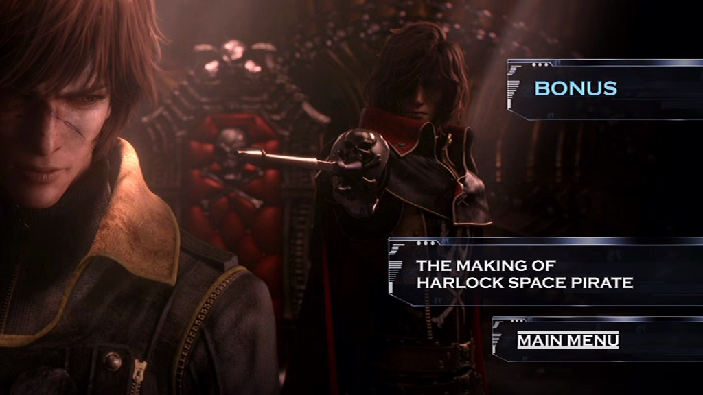 Space Pirate Captain Harlock 2013 Movie Review ~ …