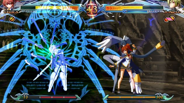 Blazblue Chrono Phantasma Extend Screenshot