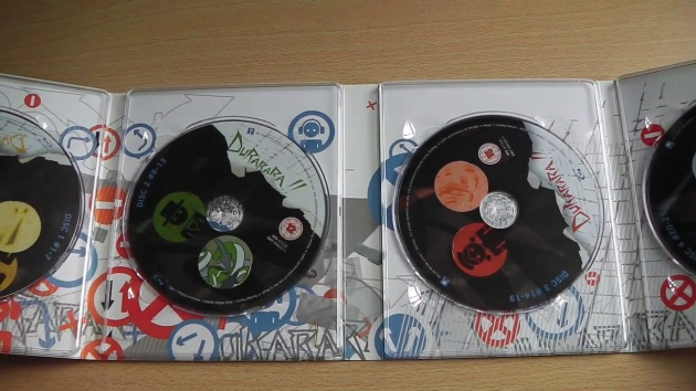 Durarara-limited-edition-bluray-unboxing-discs