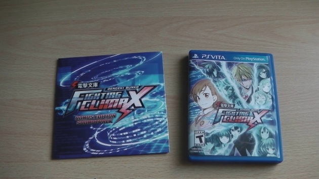 Dengeki-Bunko-Fighting-Climax-unboxing-open