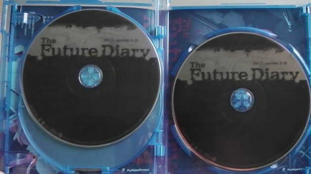 the-future-diary-bluray-complete-unboxing-discs