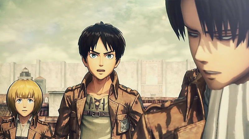 Attack On Titan Release Date Revealed For PS4, PS3, PS Vita, Xbox One ...