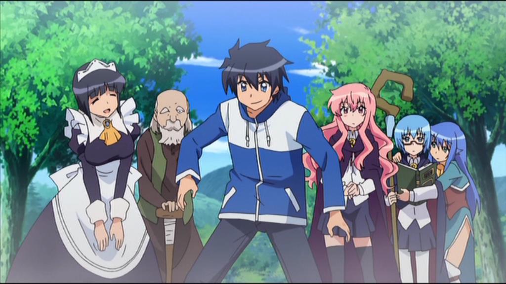 Anime like the familiar of zero