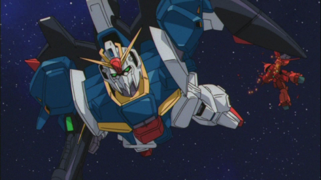 Zeta Gundam Screenshot