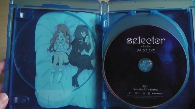 selector-infected-wixoss-bluray-unboxing-discs