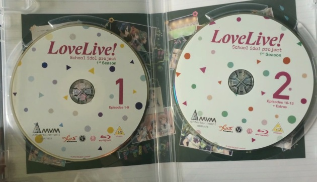 love-live-season1-bluray-unboxing-discs