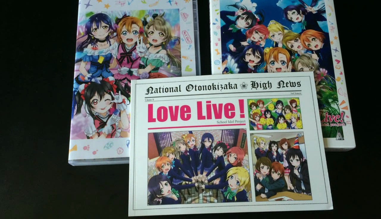 Unboxing: Love Live! School Idol Project – Season 1 & Season