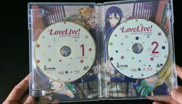 love-live-season2-bluray-unboxing-discs