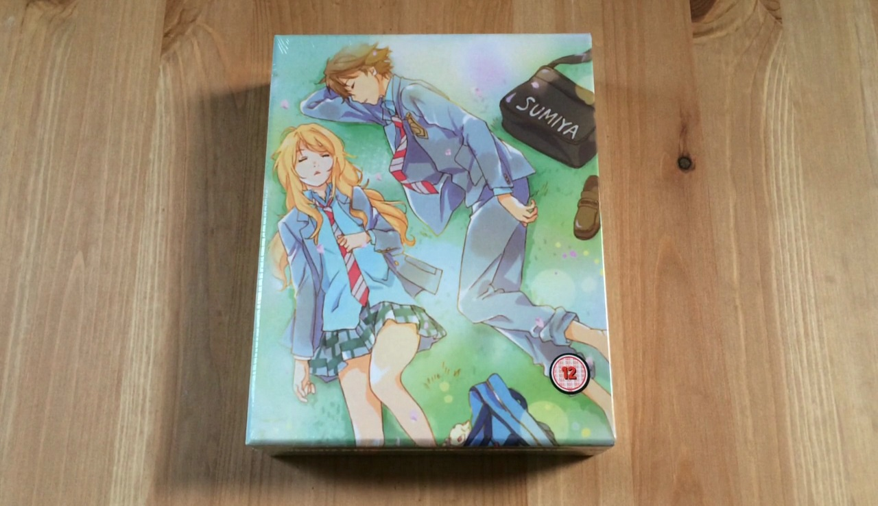Unboxing: Your Lie in April – Part 1 (Collector's Edition Blu-ray
