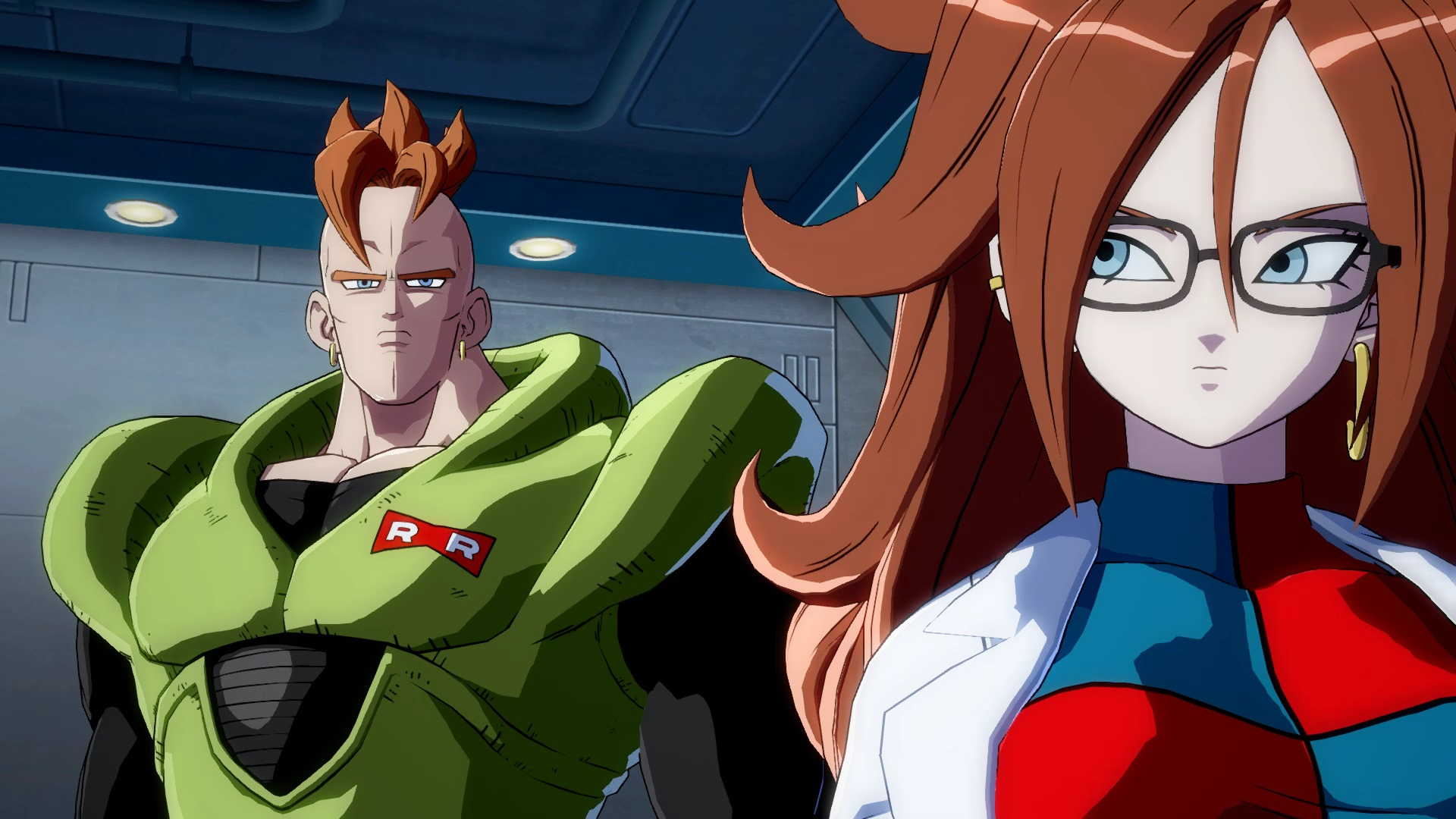 Dragon ball fighterz introduces original character android - Dragon ball z 21 ...
